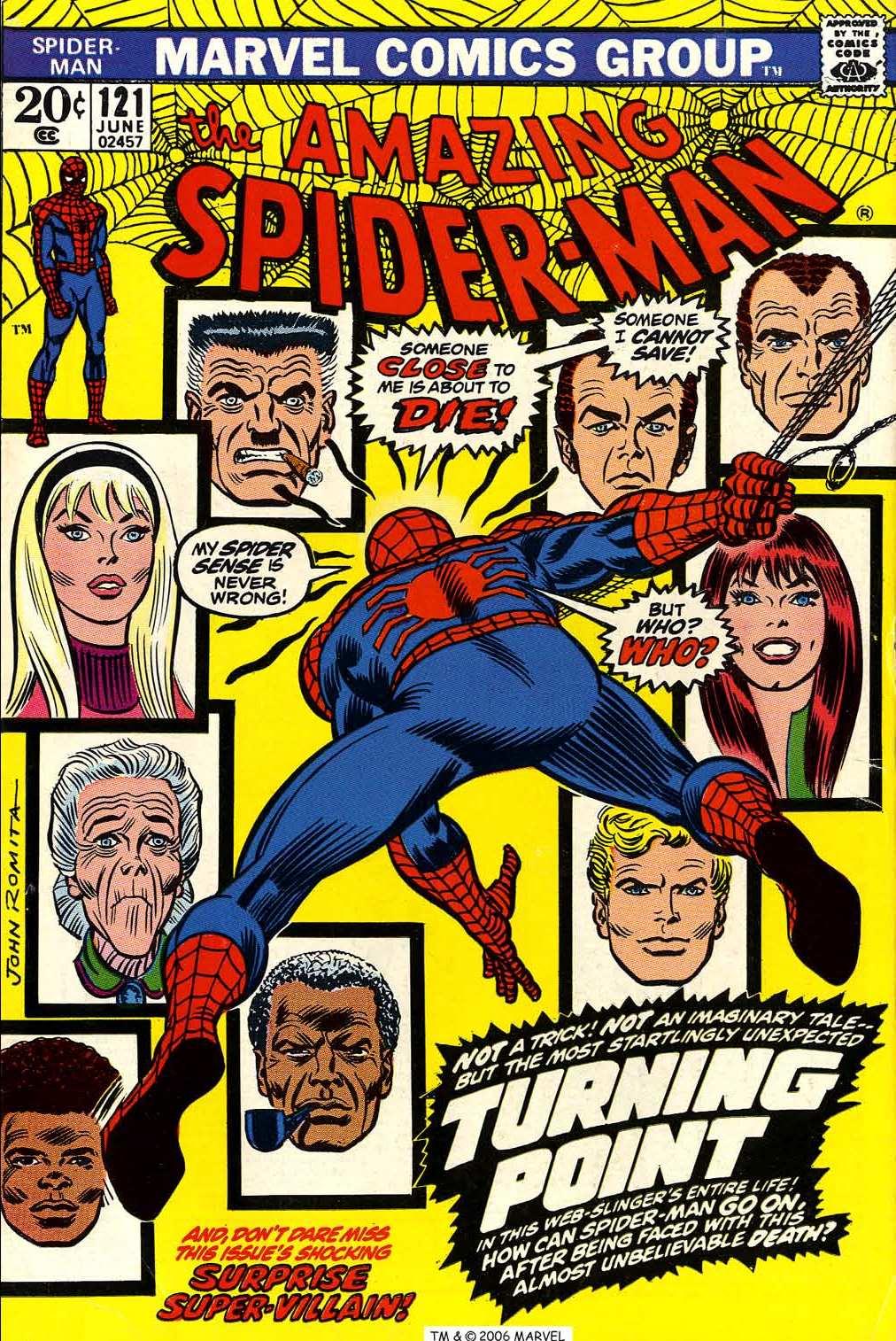 The cubeblog c mics hist ricos the amazing spider man 121 - Marvel spiderman comics pdf ...