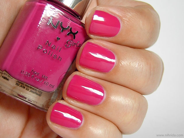 NYX Girls Nail Polish in Bimbo