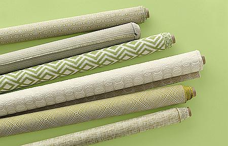modern green fabrics