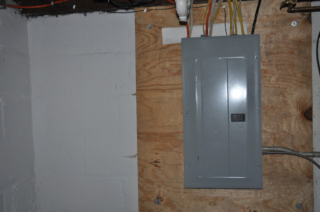 cardinal homes, new berlin, electrical panel, fan, lighting, electrical update, switches