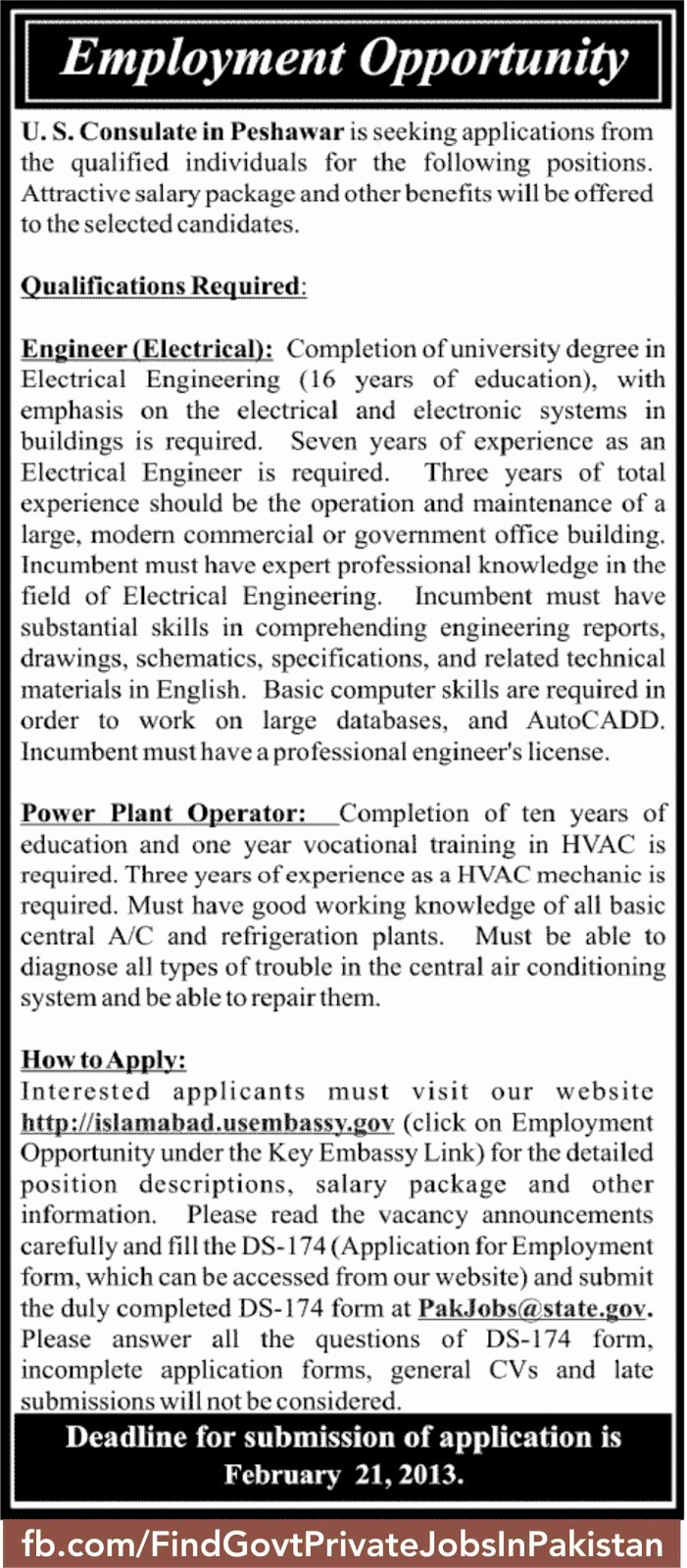 employment opportunity job ads in sunday jang