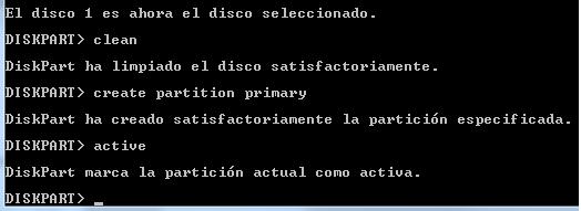disk part