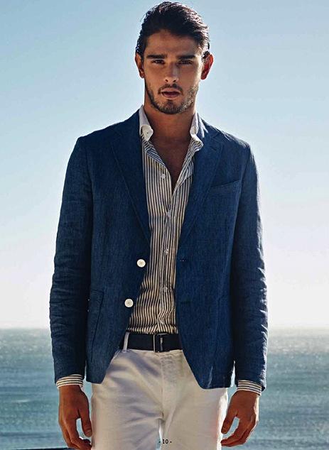 La Mode Homme Chic Costume Sports Fashion
