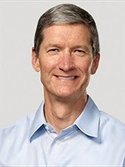 Apple CEO Tim Cook (Credit: Apple Inc.) Click to enlarge.
