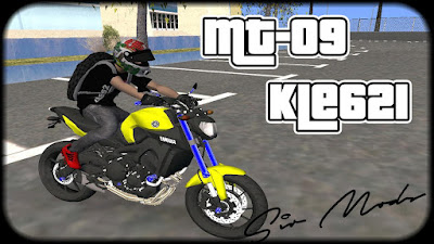GTA SA - MT 09 KLE621 2015 + Ronco