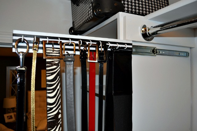 How to Make Slide Out Hanging Organizers for Closets