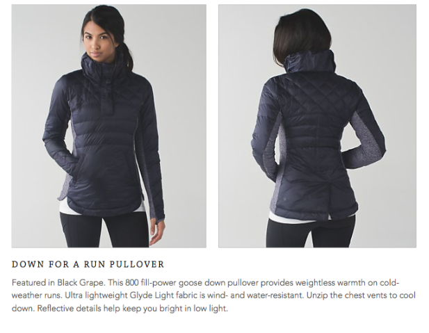 lululemon down-for-a-run-pullover