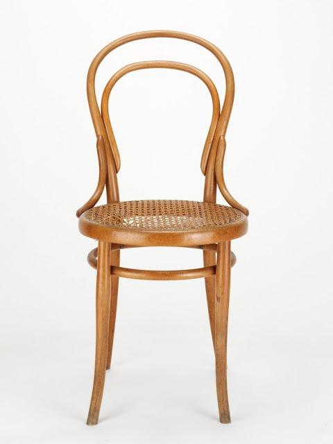 cadeira austríaca (modelo n14) de Michael Thonet