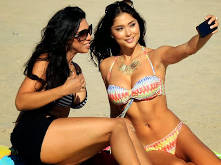 Arianny Celeste Aztec Bikini Los Angeles