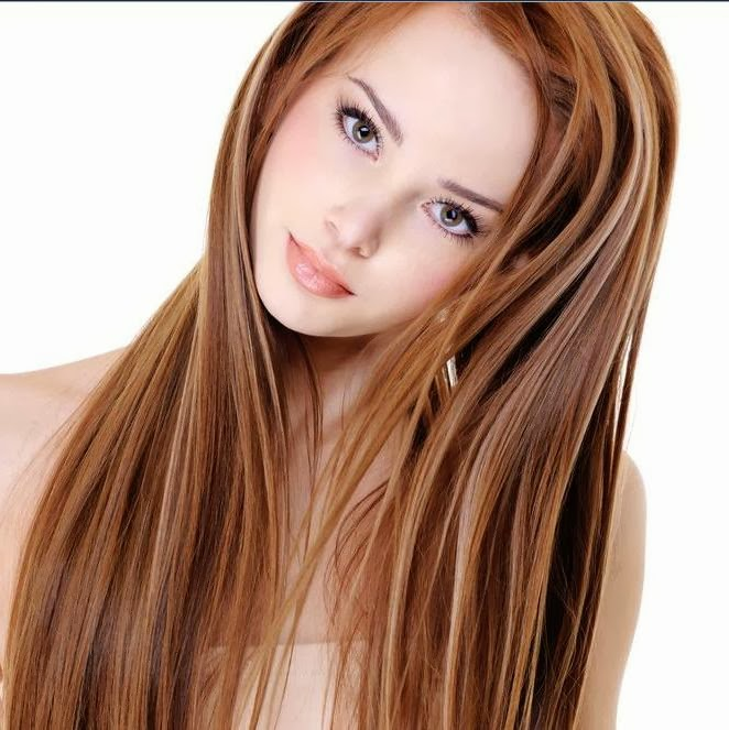 brown hair with auburn highlights pictures