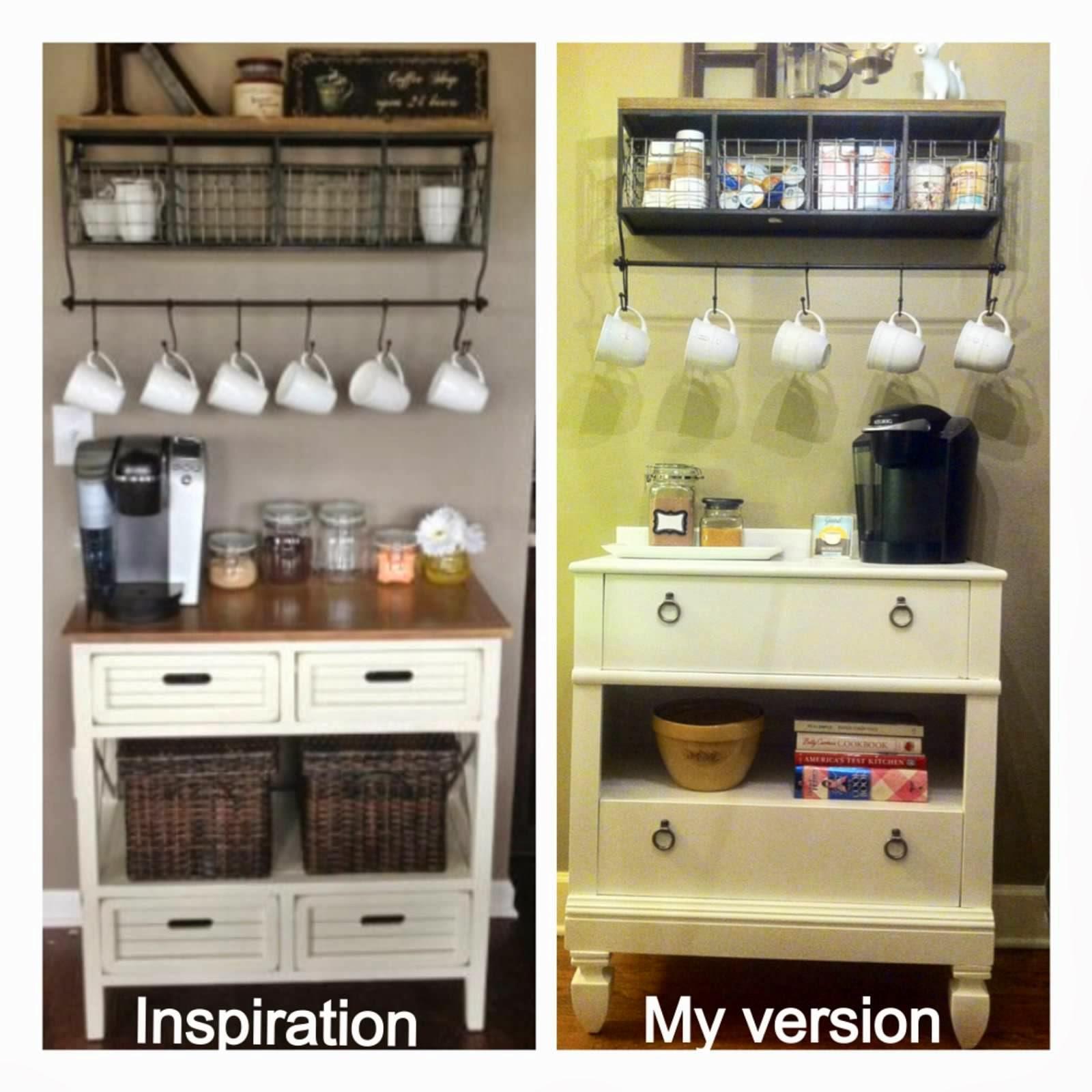 pursuit of happiness good morning sunshine my diy coffee bar. Black Bedroom Furniture Sets. Home Design Ideas