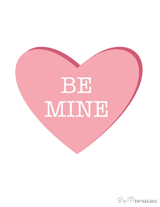 Printable Valentine - {FREE download}