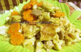 Resep Tumis Brokoli Bakso Wortel Enak dan Sederhana