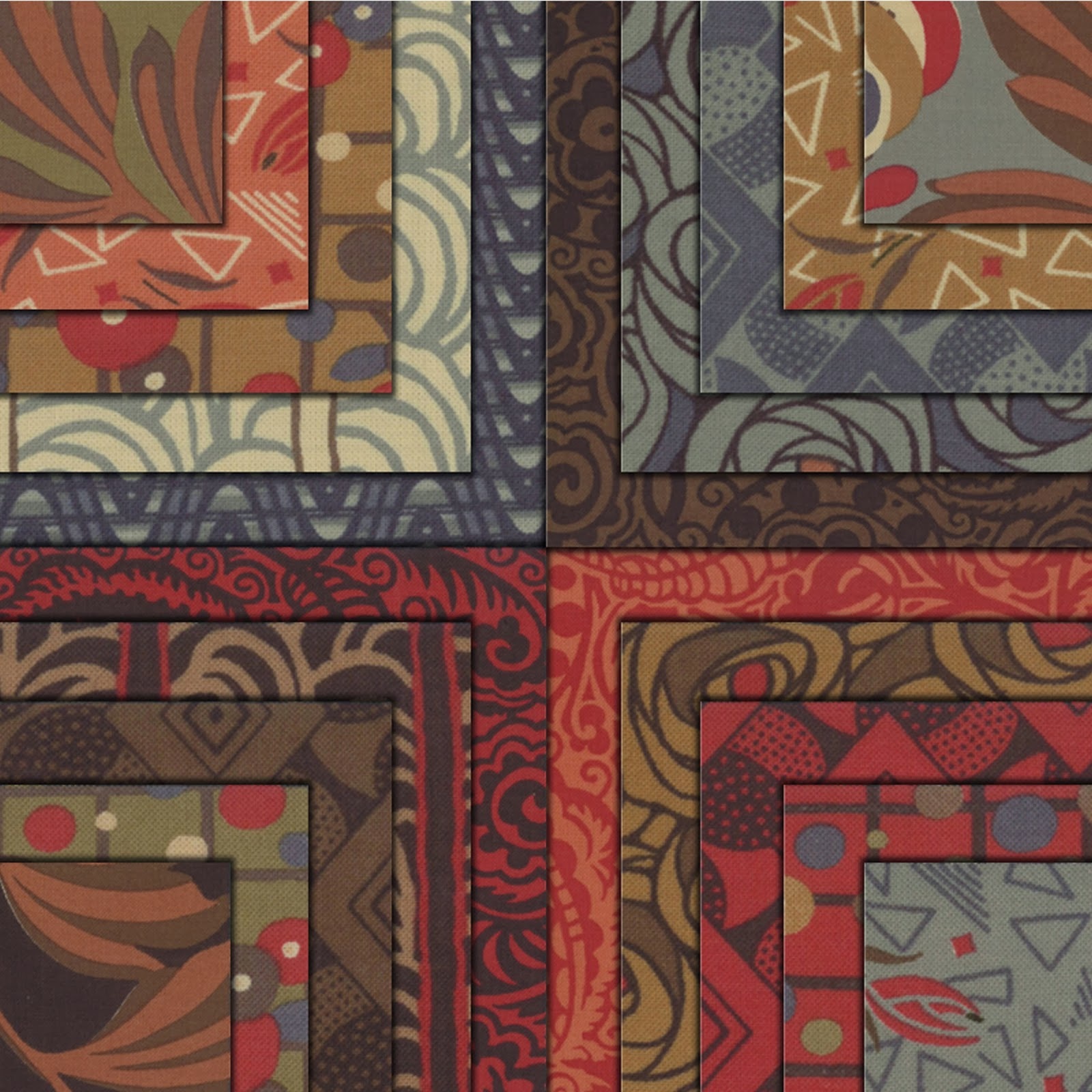 Moda MODERNISM Quilt Fabric by Barbara Brackman