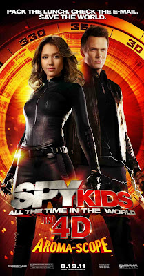 Watch Spy Kids: All the Time in the World 2011 BRRip Hollywood Movie Online | Spy Kids: All the Time in the World 2011 Hollywood Movie Poster