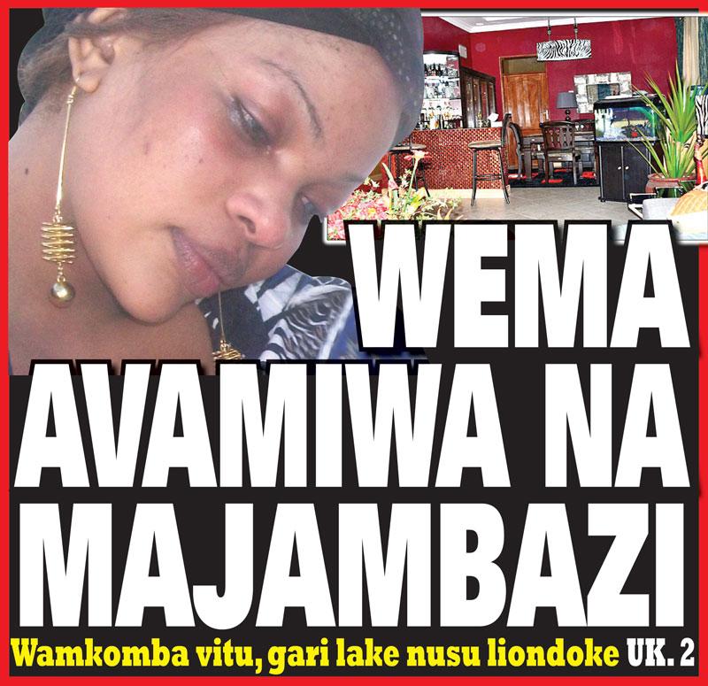 WEMA SEPETU AVAMIWA NA MAJAMBAZI!!!