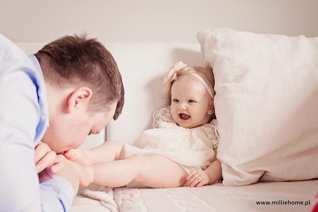 tata i córka zdjęcie