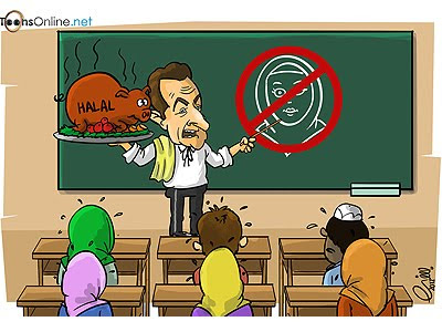 Sarkozy, Muslim