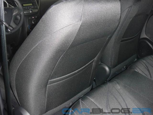 Hyundai HB-20 na cor Azul Ocean perolizada - interior
