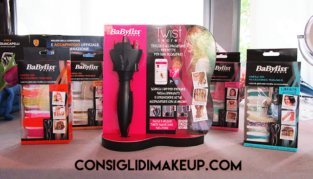 Press day BaByliss: Twist Secret, Clip n'Curl, Curl Secret Ionic&Fashion Edition, campagna Duri dal lato morbido