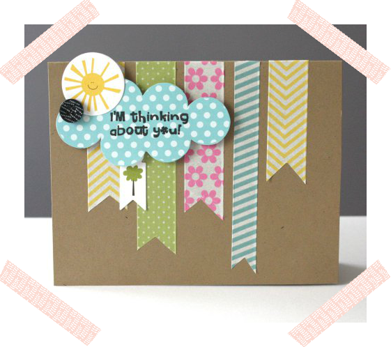 WASHI TAPE CARD DIY/ TARJETA WASHI TAPE