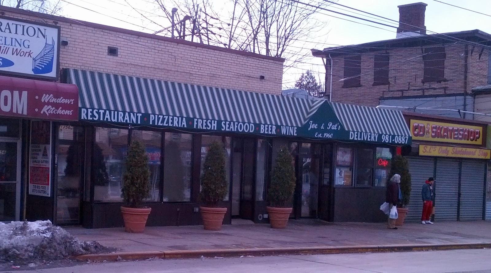 Pizza Parlor Staten Island Menu