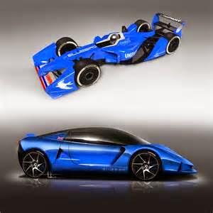Mobil listrik berwarna biru ini dinamakan DC 50 Sports Car serta Bluebird GTL Formula E.