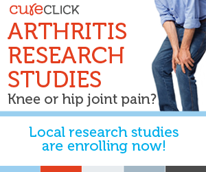 Cure Click Clinical Trial on Osteoarthritis!