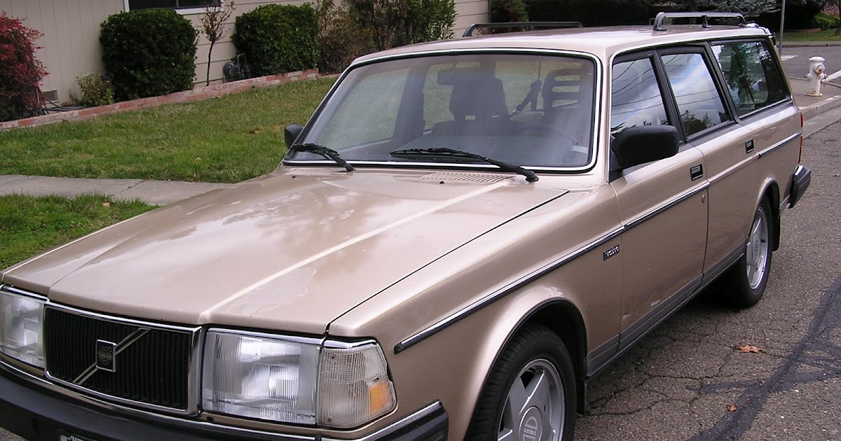Life Change: Car of the Week: Volvo 240 Wagon