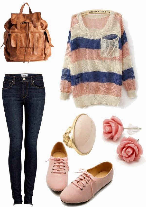 Inspired by Fashion ♥♥: Come vestirsi a scuola?   Back to school ...