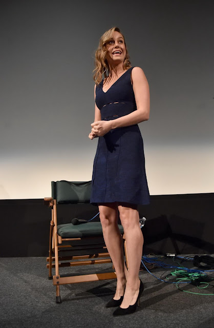 Actress, Singer, @ Brie Larson - Room Screening and Q&A at The Aero Theatre In Santa Monica