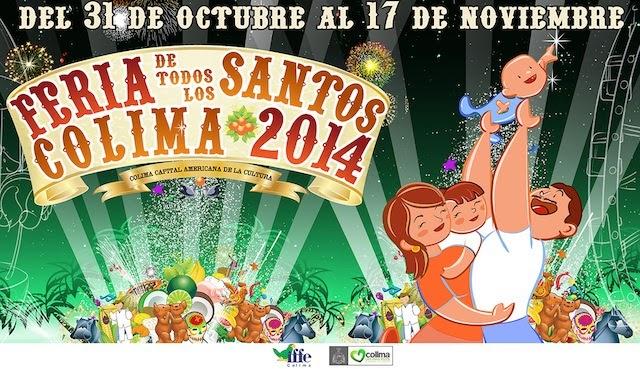 Feria de Todos los Santos Colima 2014