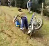 motocross casero fail
