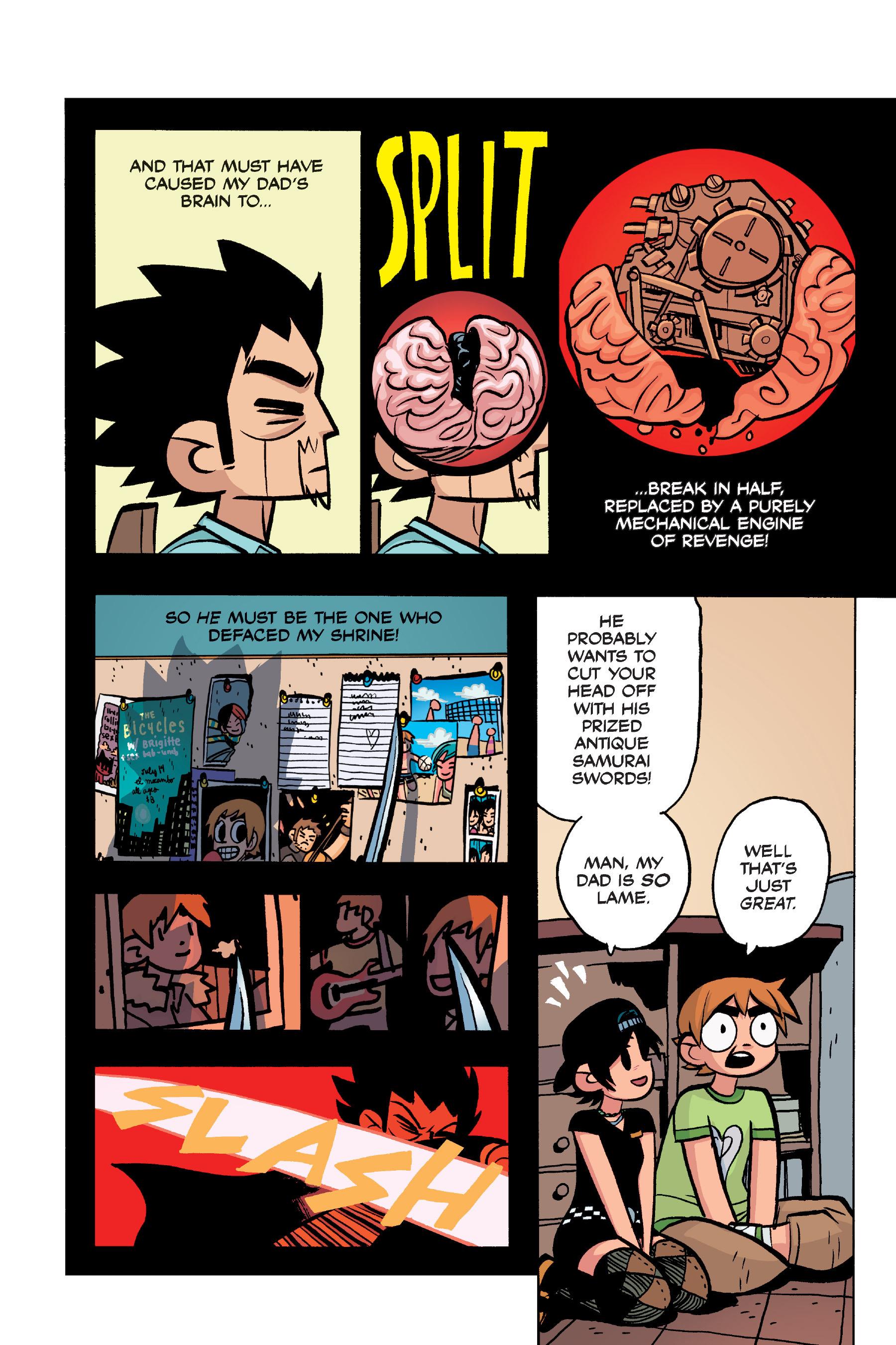 Read online Scott Pilgrim comic -  Issue #4 - 154