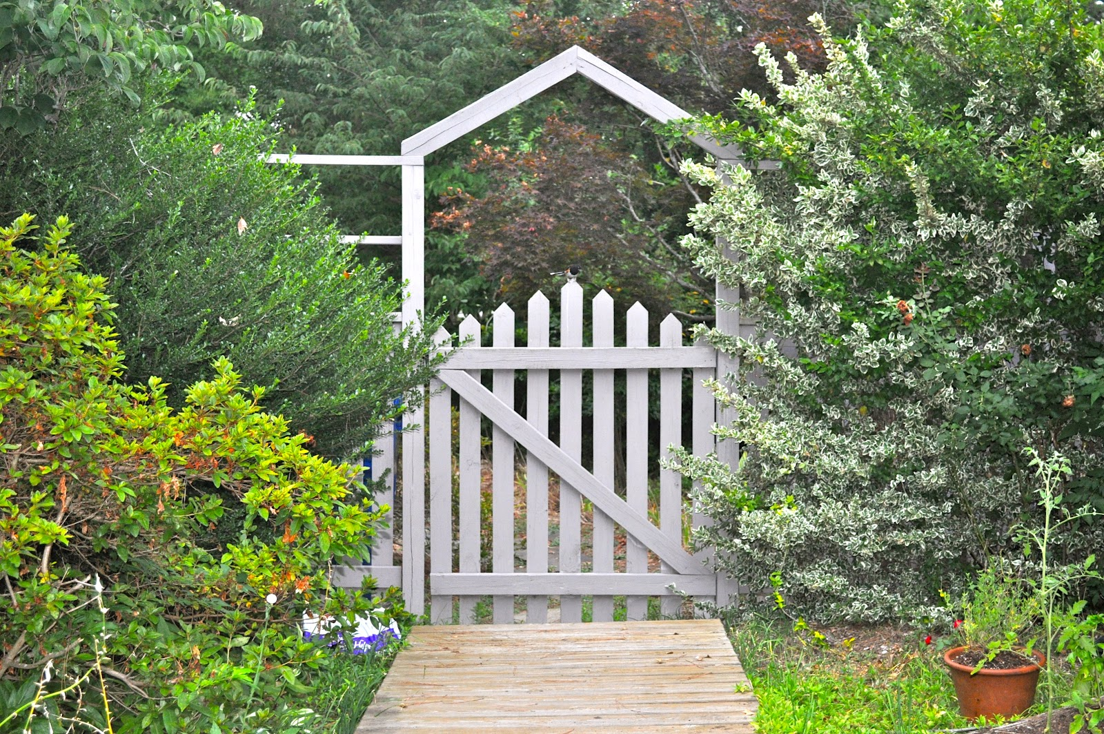 Green place garden gates for Outdoor garden doors