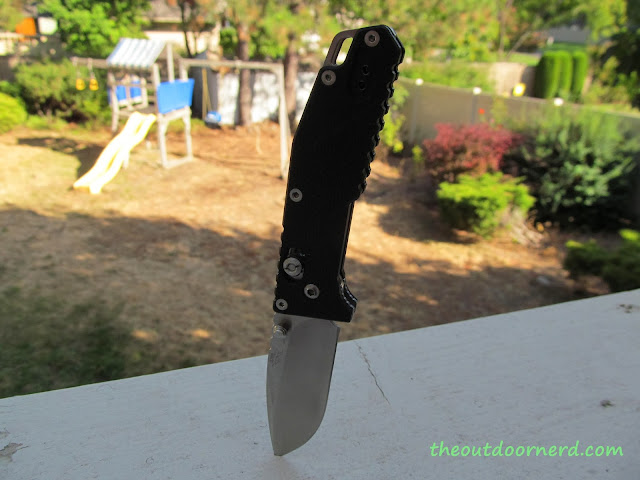 SanRenMu GB-763 Pocket Knife - Stuck In Deck