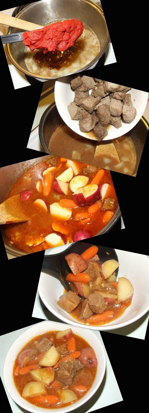 Bräuista: Cooking with Beer - Beer and Paprika Beef Stew