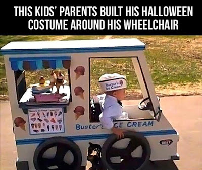 Costume for Kid on Wheelchair
