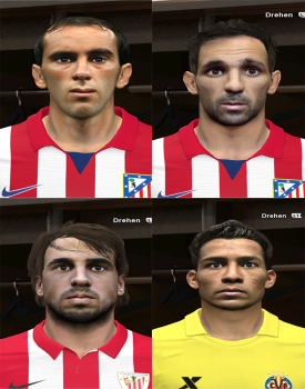 PES 2014 BBVA Mini Facepack 2 by rednik