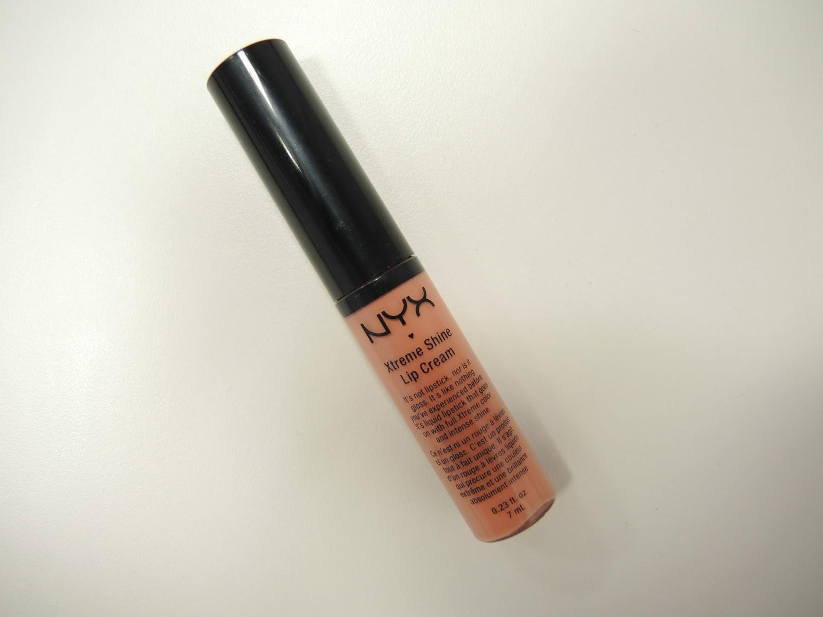 NYX Xtreme Shine Lip Cream Natural XLC10