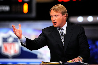 Jon Gruden staying at ESPN, will not be coaching your college football team.
