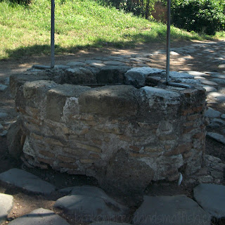 "Picture of old Roman well for ""Examine"" (poem)  brokenbreadandsmallfish.com"