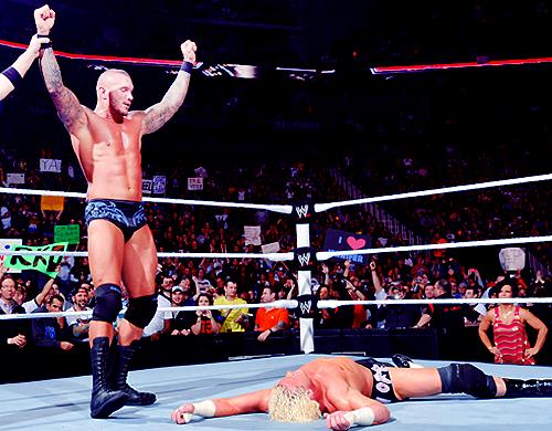 Rob Van Dam vs Randy Orton: