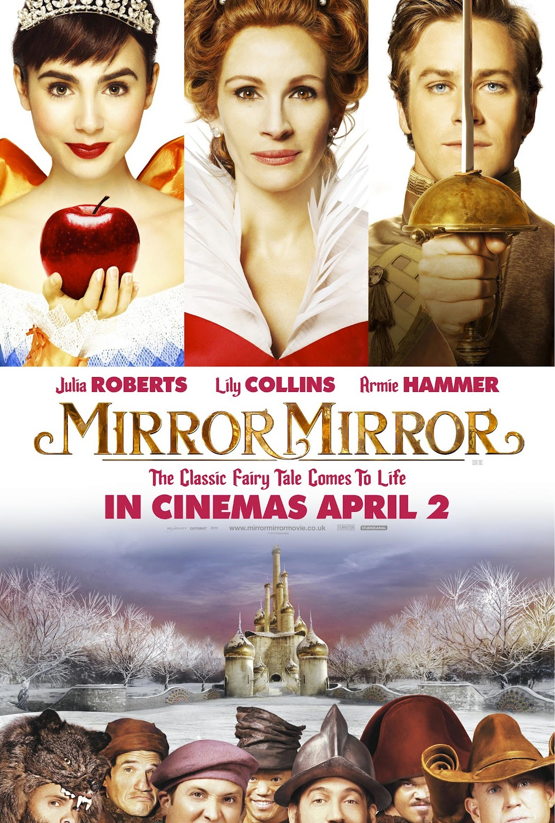 Once upon a blog mirror mirror tv trailer focusing for Mirror 1 movie