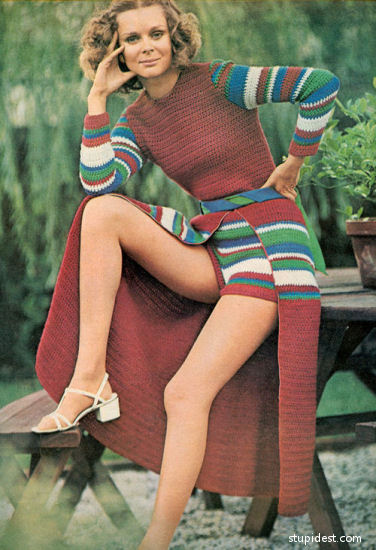 Vintage Everyday The Most Unfortunate Knitted And