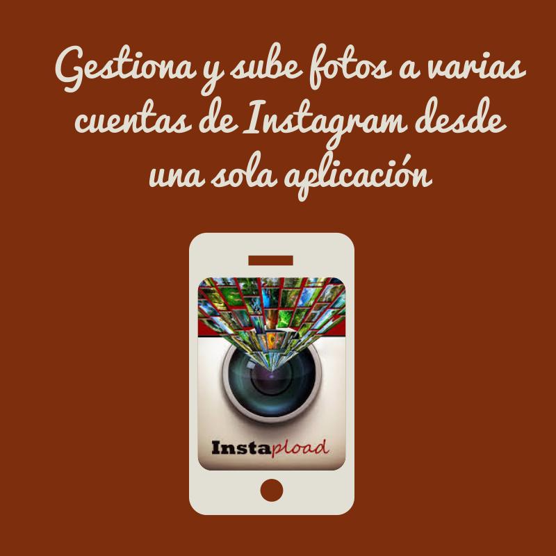 cómo gestionar varias cuentas de instagram