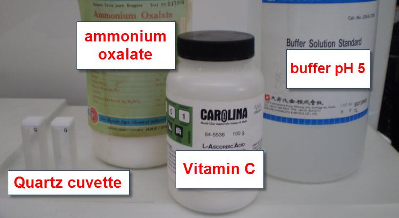 cuantificacion de vitamina c essay