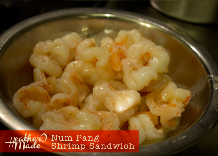 Num Pang Tiger Shrimp Sandwich recipe