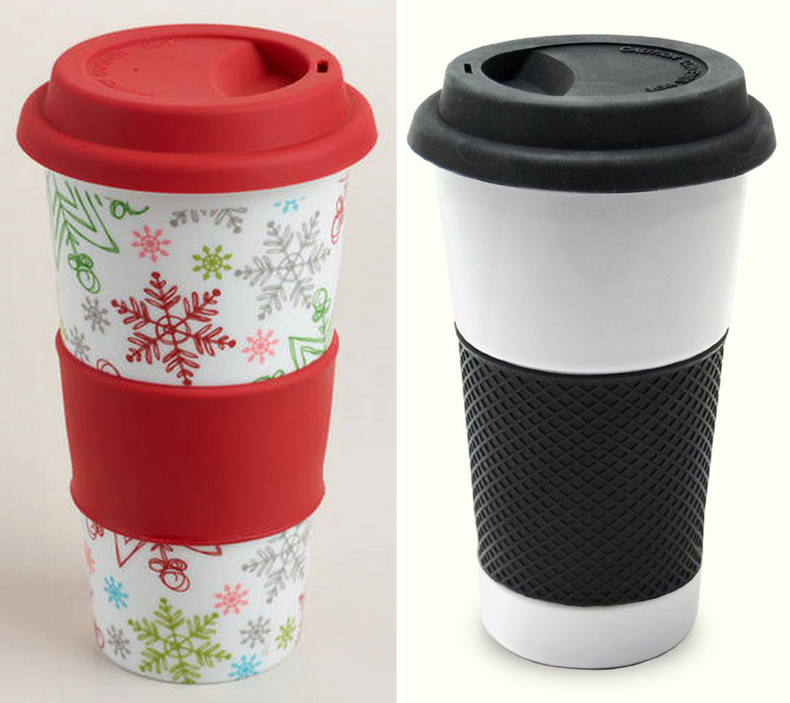 Win my favorite coffee cup in the first of TEN FUN GIVEAWAYS with Barefeet In The Kitchen this holiday season!