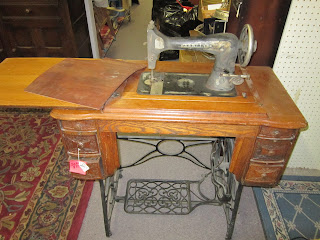 how to clean treadle machine